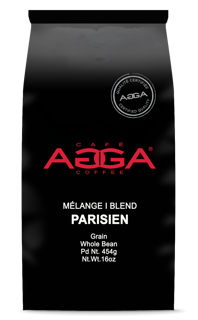 AGGA Mélange Parisien 454g Grains/AGGA Parisian Blend 454g Whole Bean